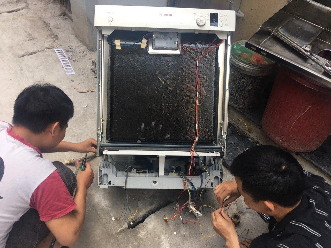 Bảo hành máy rửa bát Bosch