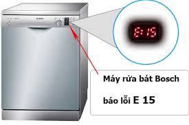 Sửa máy rửa bát báo lỗi E15