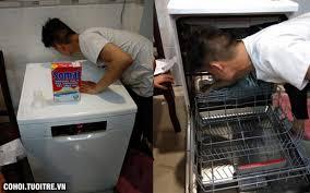 Sửa máy rửa bát Bosch tại nhà