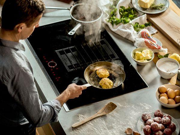Bếp từ siemens tiện ích