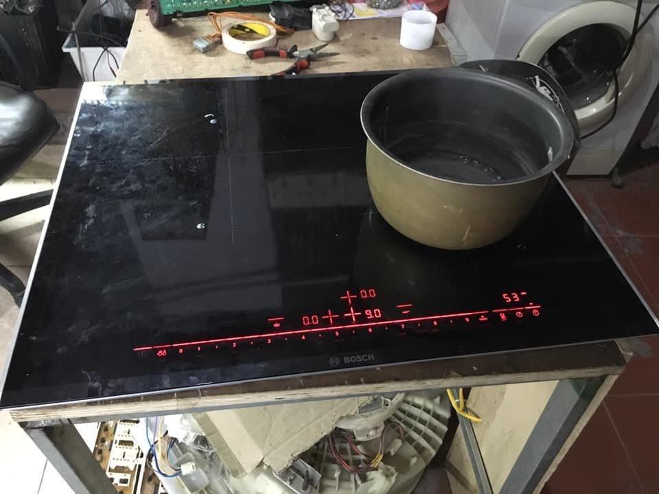 Dịch vụ sửa bếp từ tại quận Hà Đông