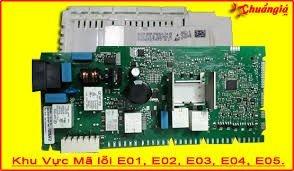 Sửa máy rửa bát báo mã lỗi E01, E02, E03